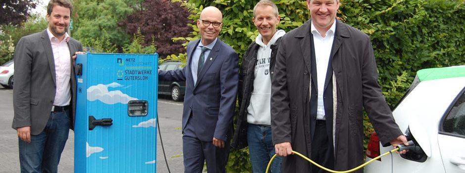 E-Ladestationen für Elektrofahrzeuge in Herzebrock und Clarholz