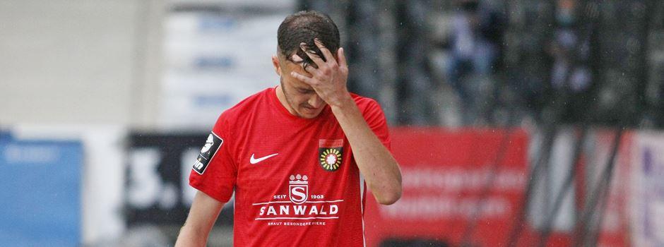 Elf Punkte Rückstand! Großaspach kurz vor dem Regionalliga-Absturz