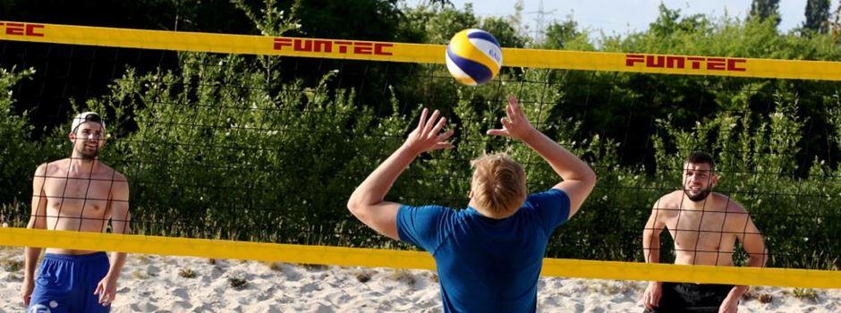 Kostenlose Schnupperstunden: Beachvolleyball