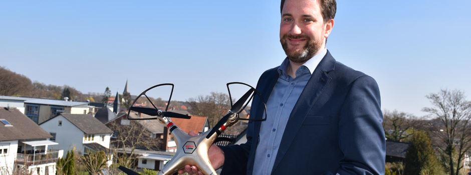 Drohne soll Ordnungswidrigkeiten feststellen