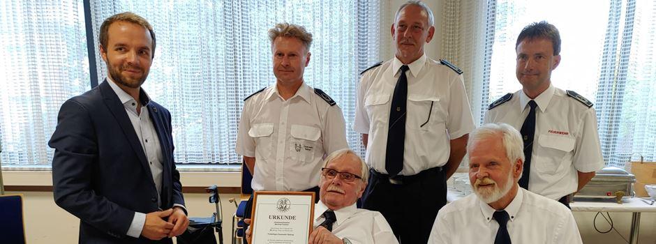 470 Jahre Feuerwehr Waltrop - 15 Freiwillige geehrt