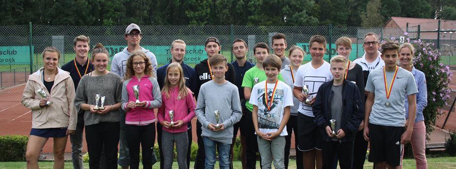 Stych ist Vereinsmeister des TC Herzebrock
