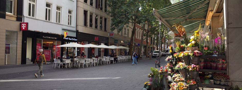 Studie: Wiesbadener Fußgängerzone verliert Kunden