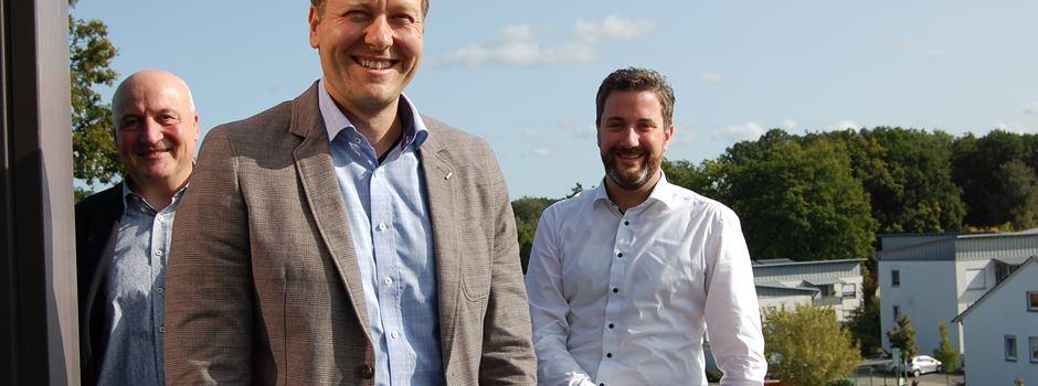 Geschäftsführer der VHS André Mannke zu Besuch in Herzebrock-Clarholz