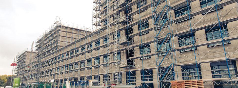 So steht es beim Neubau der HSK