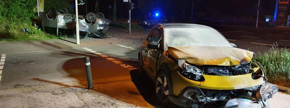 Drei Verletzte bei Unfall in Bretzenheim