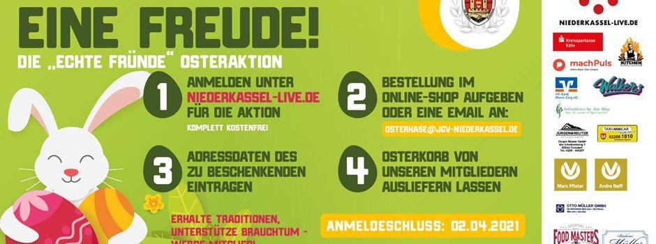 """""""Echte Fründe"""" Osteraktion"""