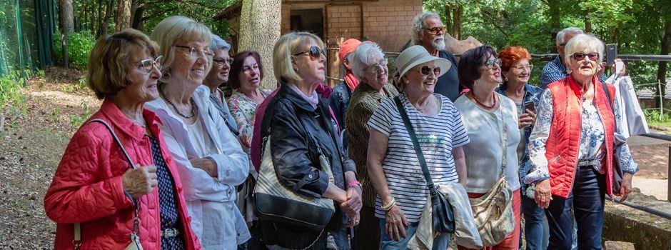 Senioren besuchen den Zoo Kaiserslautern