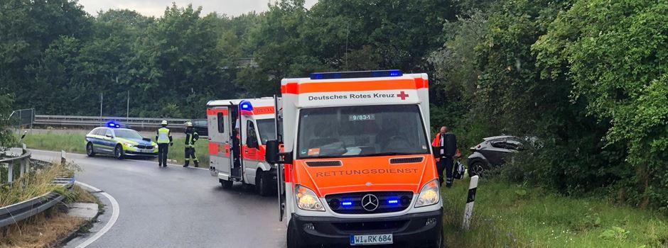 Vier Personen nach Unfall auf der A66 verletzt