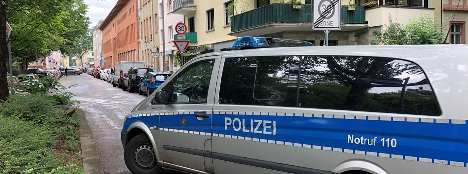 UPDATE: Karlstraße nach Polizeieinsatz wieder frei