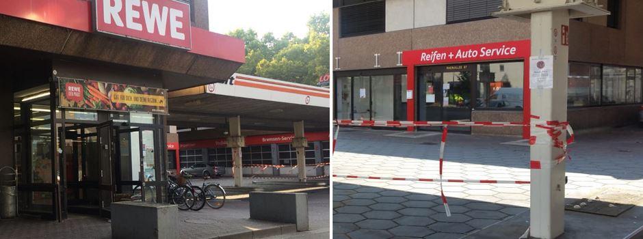 Rewe Markt Und Bft Tankstelle Schließen