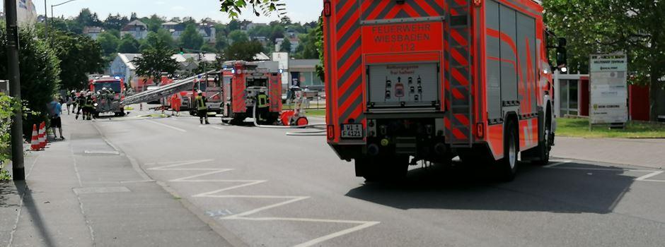 Feuerwehreinsatz in der Mainzer Straße: Was ist dort los?