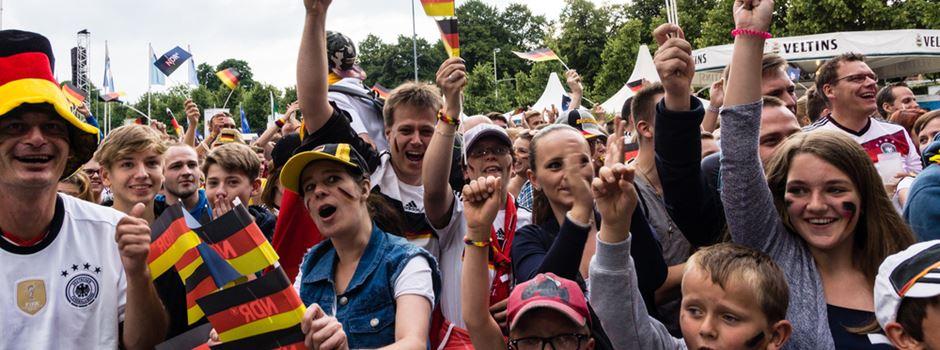 Abgespecktes Public Viewing zur Fußball-WM