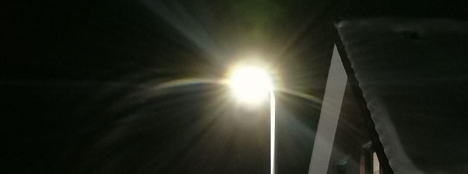 Der Lichtverschmutzung auf der Spur