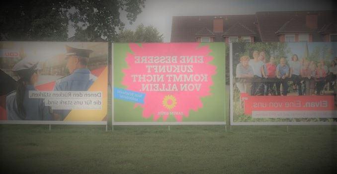 Kommunalwahl: Parteien und Wählergemeinschaft entscheiden sich gegen intensive Plakatierung