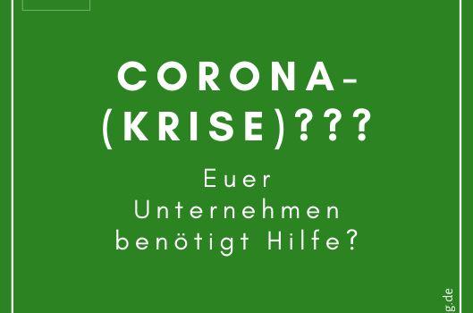 Corona-Hilfe für Unternehmen