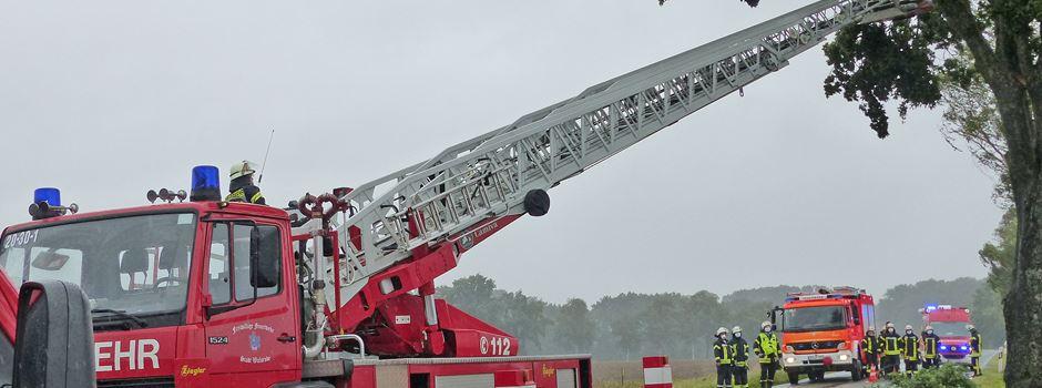 Feuerwehren gefordert: Insgesamt 13 Einsätze im Heidekreis