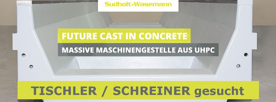 Stellenanzeige: Sudholt-Wasemann sucht einen Tischler / Schreiner in Vollzeit