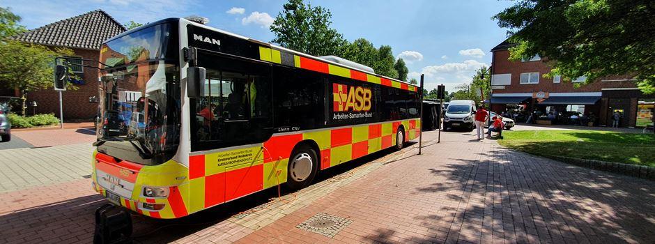 Impfbusse in Soltau und Walsrode
