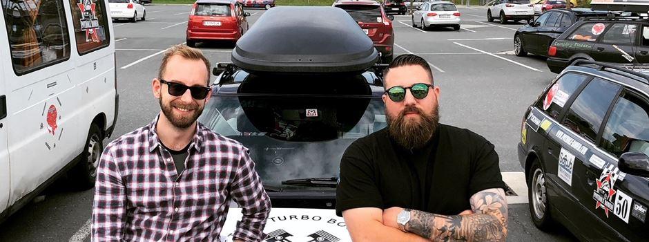 Für einen guten Zweck durch den Balkan: 2 Augsburger beim Pothole Rodeo 2018