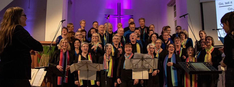 Rainbow-Gospelchor feiert Jubiläum