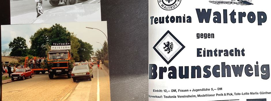 Historischer Rückblick: Als Teutonia Waltrop im DFB-Pokal spielte...