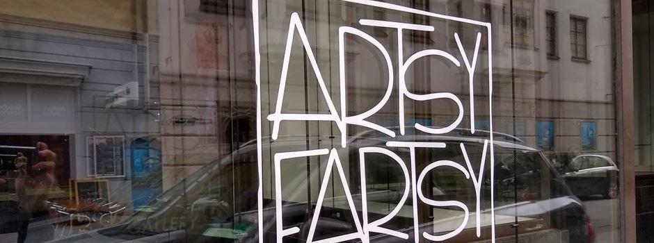 Die Artsy Fartsy Gallery - Kunst im Pop-Up Store