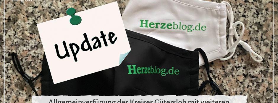 Allgemeinverfügung des Kreis Gütersloh - Update 28.12.2020