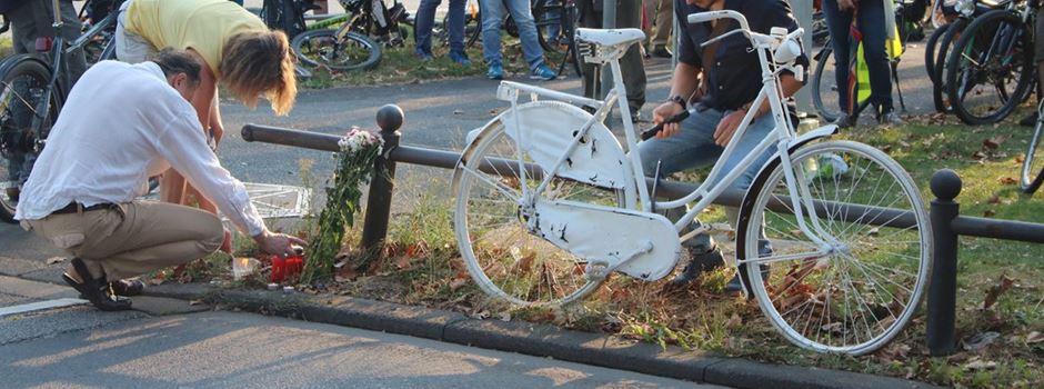 Gedenk-Radkorso für getöteten Radfahrer
