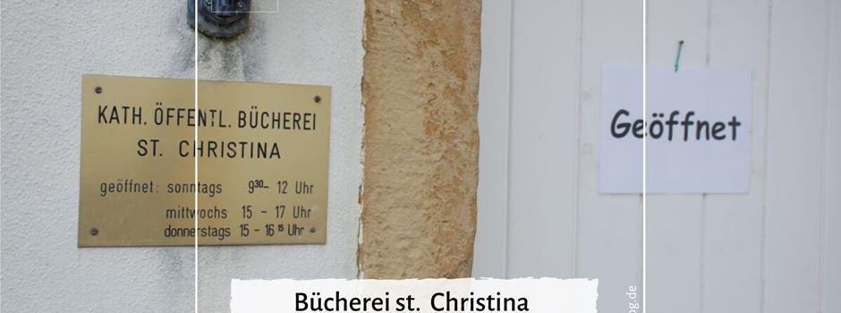 Bücherei St. Christina hat wieder geöffnet