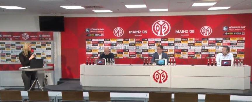 Corona-Krise: Mainz-05-Vorstand äußert sich auf Pressekonferenz