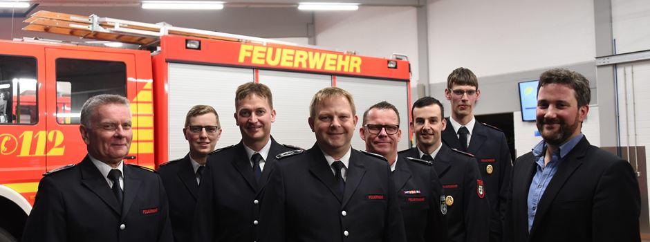 Neue Führungsämter bei der Feuerwehr