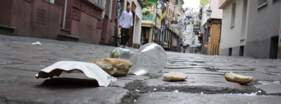 Frankfurter müssen wegen Müllproblem umerzogen werden
