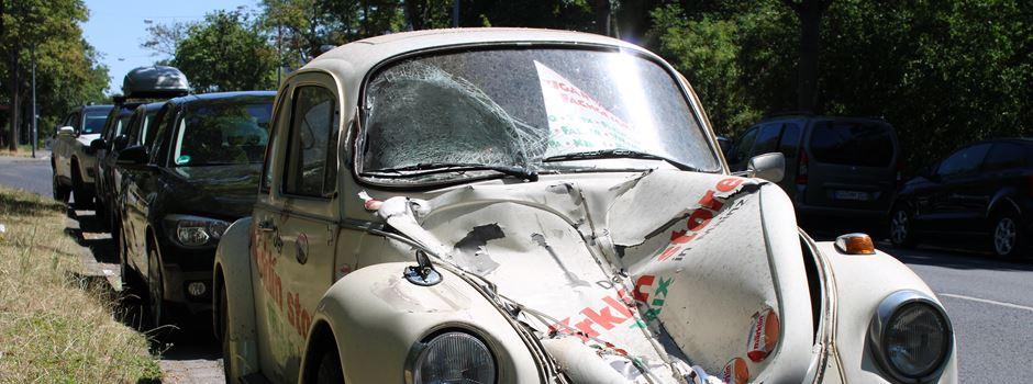 Märklin-Kult-Käfer muss auf Autofriedhof