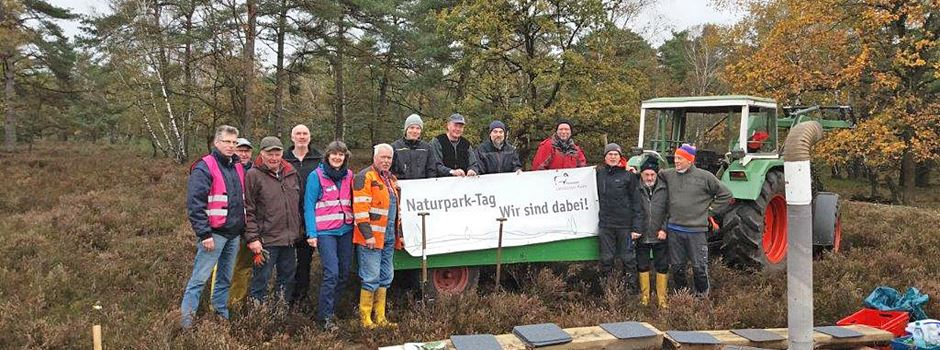 Naturpark-Tag: 400 ehrenamtliche Helfer packten an