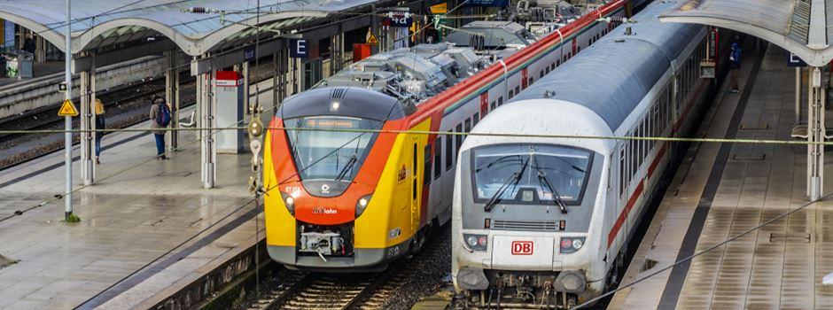 Mann (23) steigt in falschen Zug und wird auf dem Abstellgleis zurückgelassen