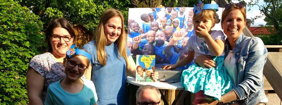 Erfolgreiche Spendenaktion auf dem Sommerfest im Kinderland Talstraße