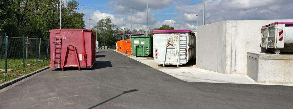 Hechtsheimer Recyclinghof ab Montag wieder geöffnet