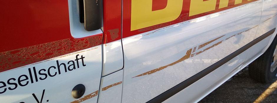 Schon wieder: Vandalismus gegen Wörrstädter Rettungskräfte