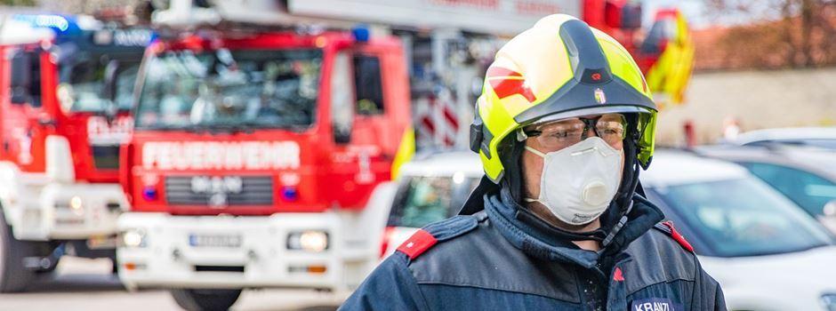 Feuerwehrangehörige werden ab 24. Mai geimpft