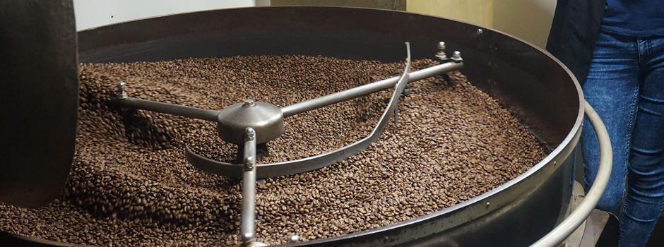 Hier wird in Mainz Kaffee geröstet