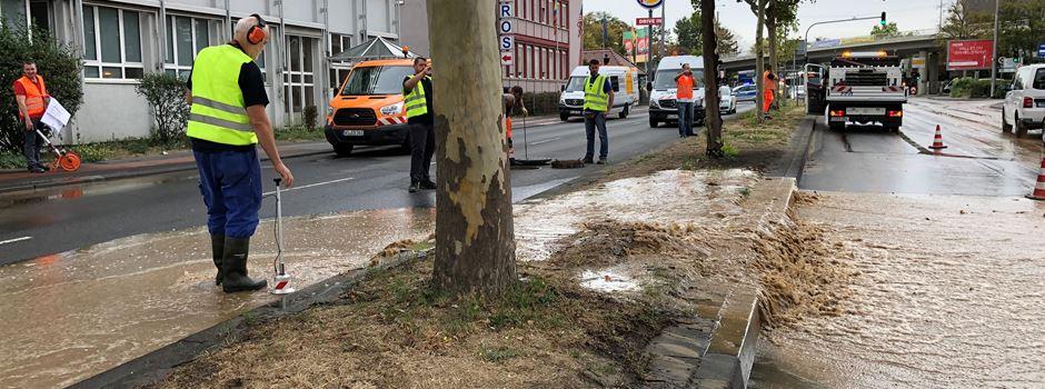 UPDATE: Mainzer Straße nach Sperrung  nur teilweise wieder befahrbar