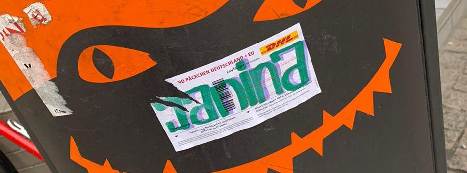 Die Suche nach Graffiti-Janina