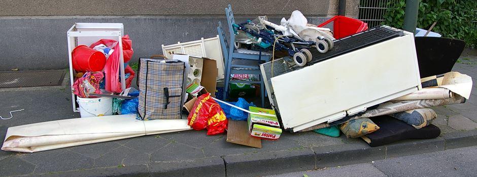 Liegt immer mehr illegal abgeladener Müll auf Wiesbadener Straßen?