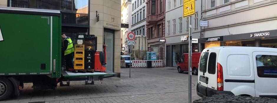Lieferverkehr soll aus Innenstadt verbannt werden