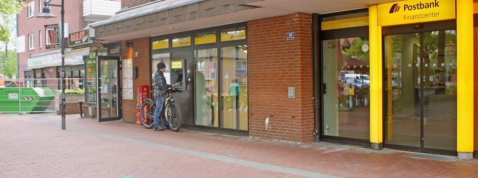 Postbank zieht in Bastelladen