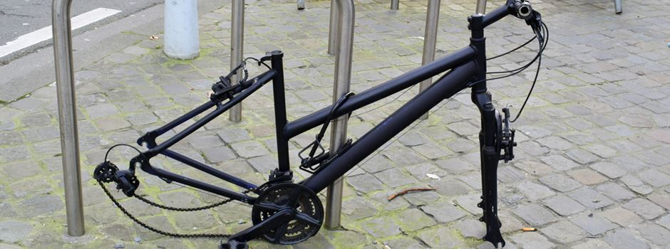 Polizei bestätigt: Immer mehr Fahrraddiebstähle im Westend