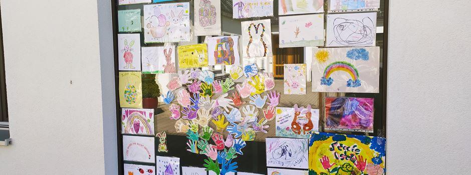 Kreative Kommunikation zu Zeiten von Corona in Mondorfer Kindergarten