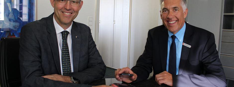 Werbung: Das Smartphone wird zur Geldbörse: Sparkassen starten Mobiles Bezahlen