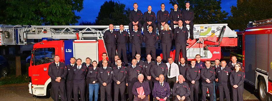 Freiwillige Feuerwehr Niederkassel: Ehrungen und Beförderungen
